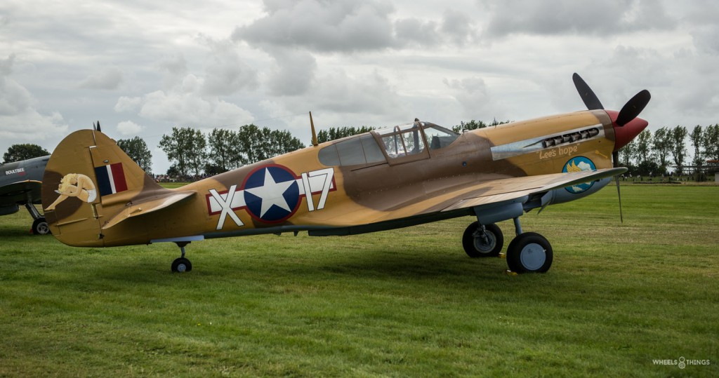 Goodwood 2015 airplane